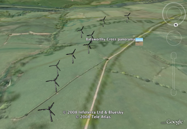 google earth view